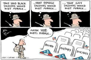 Record Military Suicides