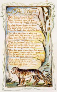 "Copy Y of ""The Tyger,"" Songs of Innocence and of Experience"