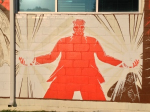 Nikolai Tesla Mural