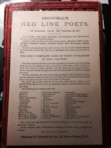Red Line Poets Series Flyer