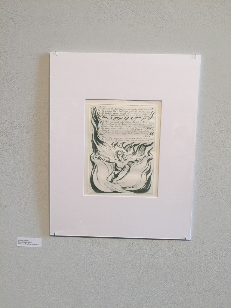 Michael Phillips's reproduction of America a Prophecy Plate 10-12