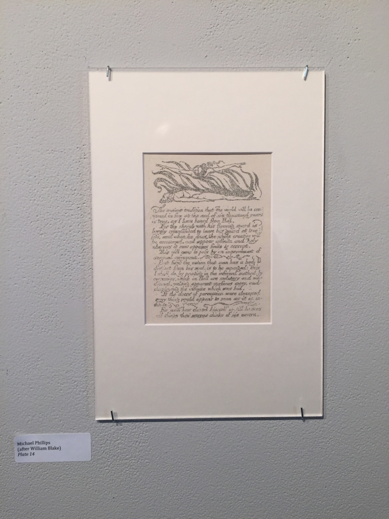 Michael Phillips's reproduction of America a Prophecy Plate 14
