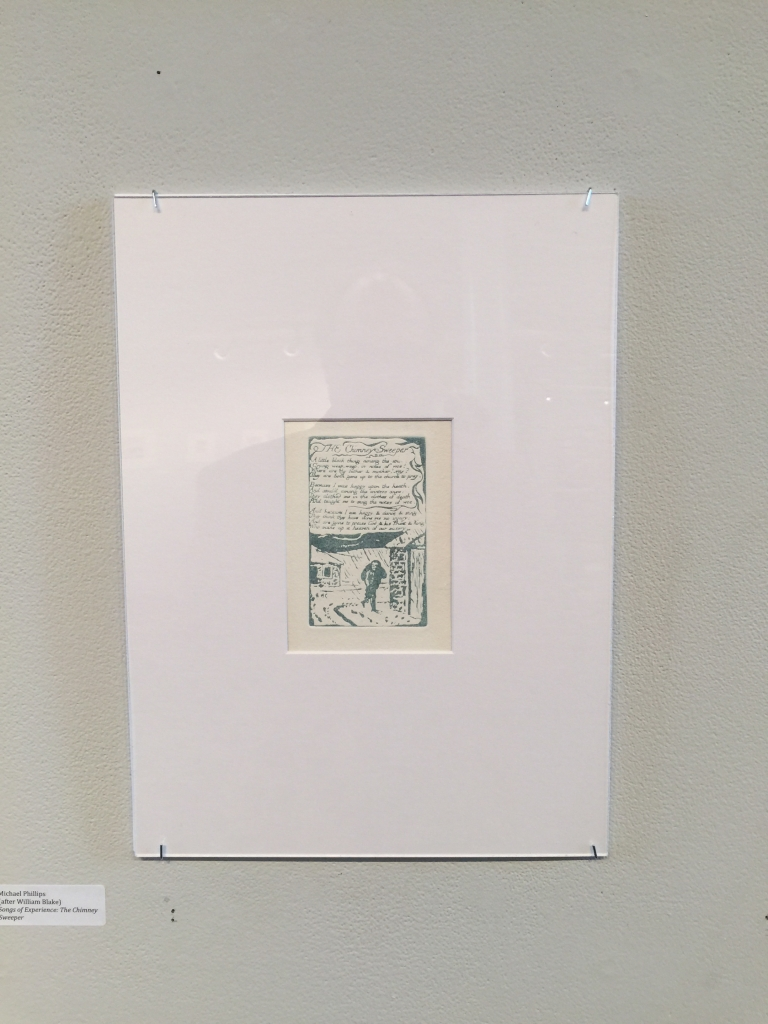 "Michael Phillips's reproduction of ""The Chimney Sweeper"" (E), Copy AA."