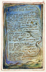 "William Blake's ""Earth's Answer,"" Copy Z."
