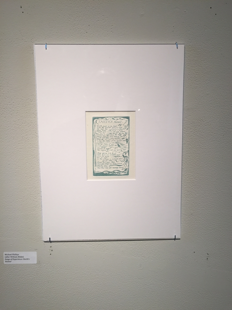 """Michael Phillips's reproduction of """"Earth's Answer."""""""