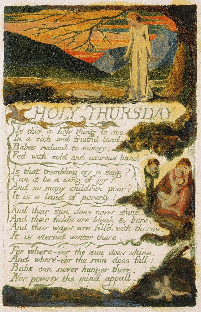 """Holy Thursday"""