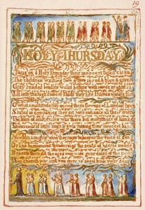 "William Blake's original ""Holy Thursday,"" Innocence, Copy AA."