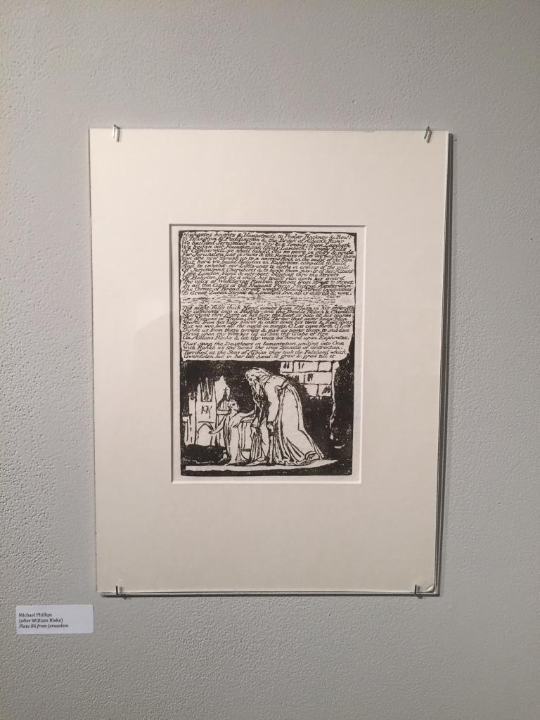 Michael Phillips's reproduction of Jerusalem, Plate 86