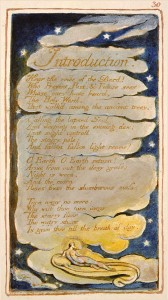 William Blake's Introduction to the Songs of Experience