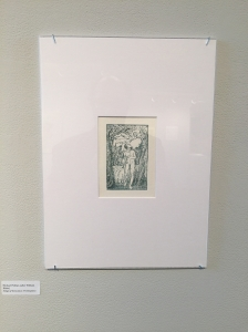 Michael Phillips's reproduction of Blake's Frontispiece to the Songs of Innocence.