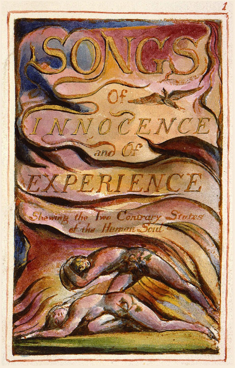 Songs of Innocence and of Experience, Title Page